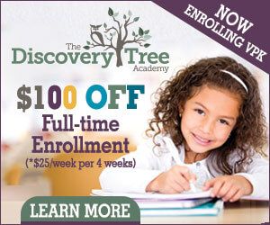 Discovery Tree Full-Time enrollment special